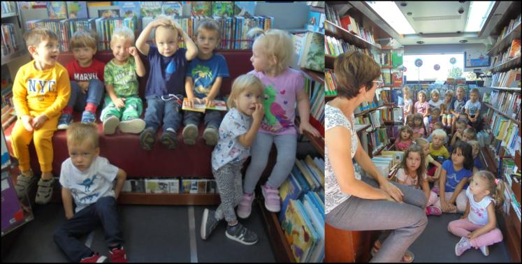 Otroci iz vrtca Bukovica obiskujejo potujočo knjižnico – Bibliobus
