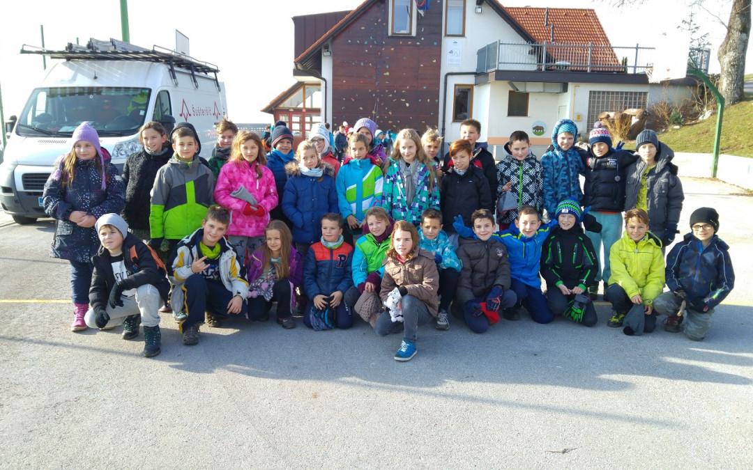 Šola v naravi na Medvedjem Brdu