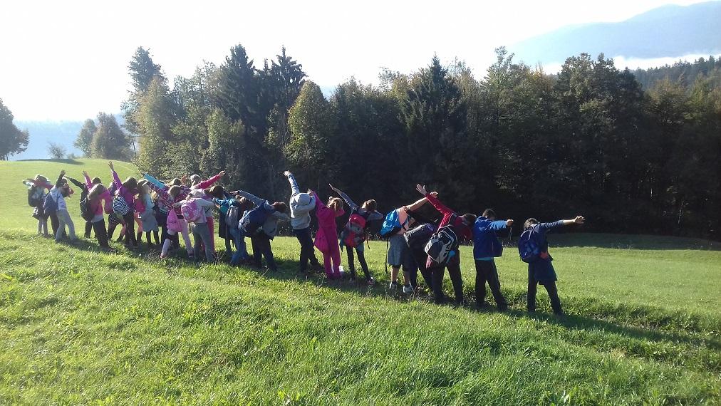 Četrtošolci v šoli v naravi