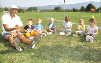 Športno dopoldne v vrtcu Bukovica in Renče